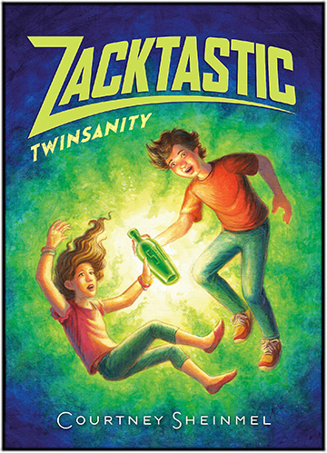 Zacktastic Twinsanity by Courtney Sheinmel